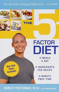Harley Pasternak - 5-faktorová dieta, jídelníček (kniha)